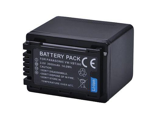 Baterie VW-VBT380, VW-VBT190 pro Panasonic 3900mAh s čipem