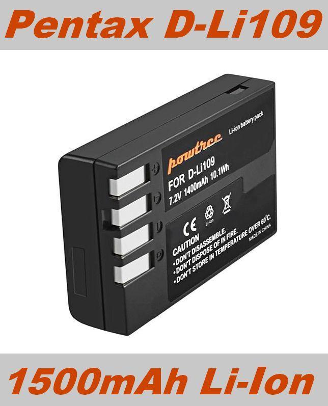 Baterie Pentax D-Li109 1500mAh