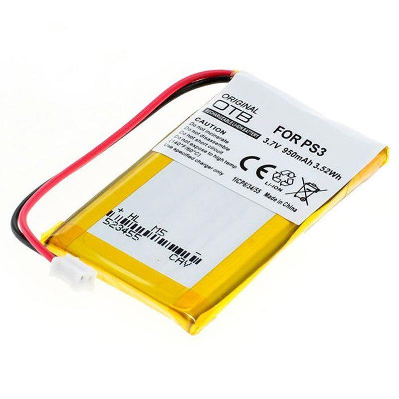 Baterie pro bezdrátový ovladač Sony PlayStation 3 PS3 DualShock 3 SixAxis, CECHZC2E 950mAh