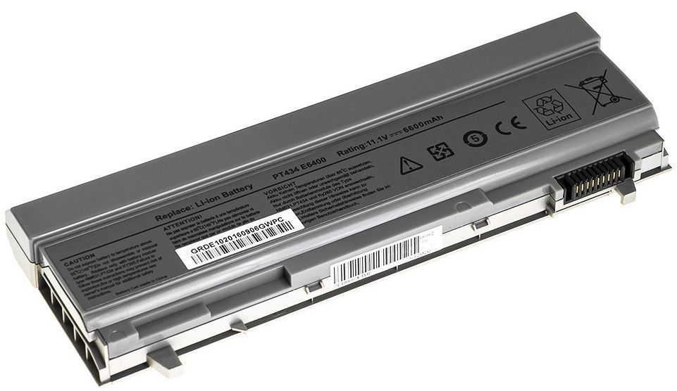 Baterie pro Dell Latitude 6400 ATG, E6400 XFR, E6500 6600mAh