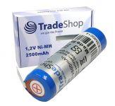 Baterie pro zubní kartáček Braun Oral B 1,2V NI-MH 2500mAh