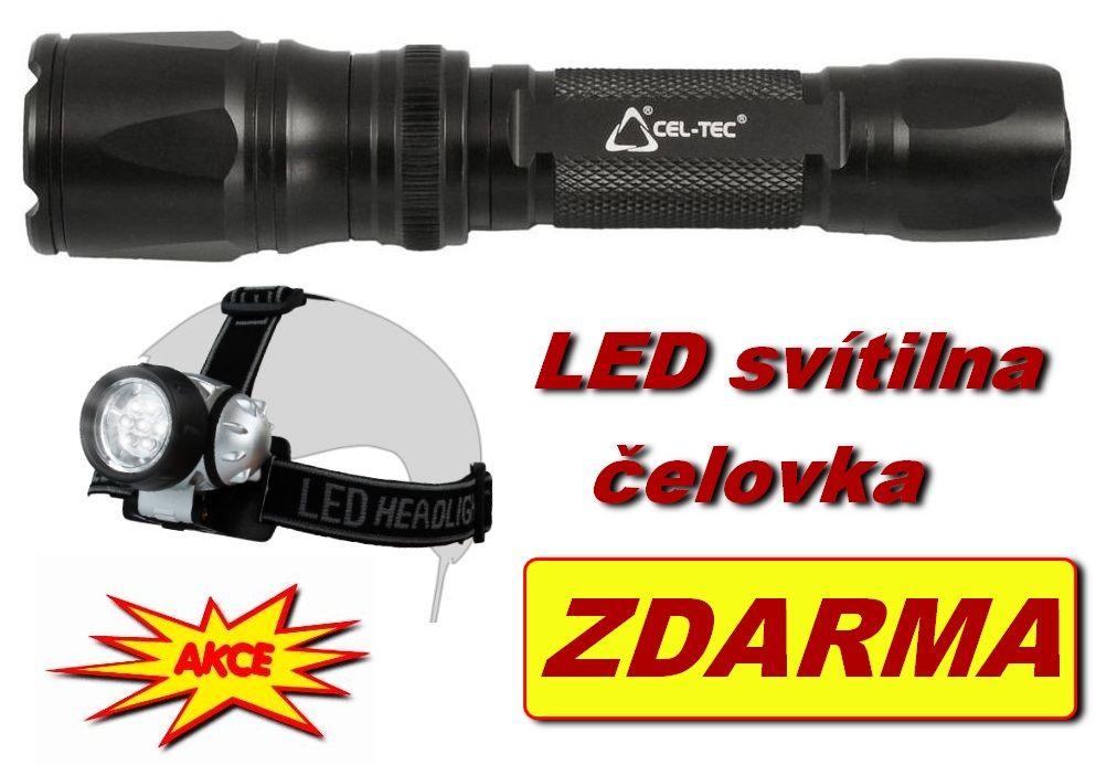 LED svítilna FLZA 50 CEL-TEC