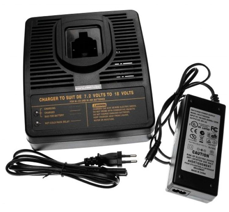 Nabíječka AKU baterie Dewalt Ni-MH, Ni-CD 7,2V 9,6V 10,8V 12V 14,4V 18V