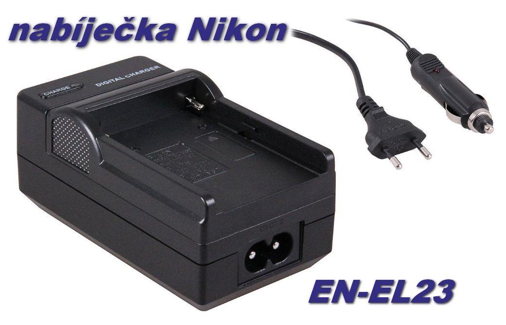 Nabíječka baterie Nikon EN-EL23