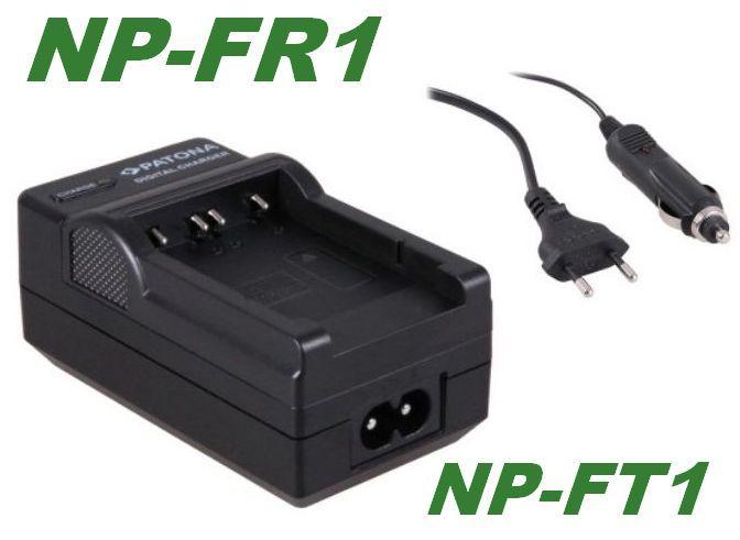 Nabíječka baterie Sony NP-FR1, NP-FT1 s CL adaptérem