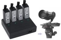 Nabíječka pro DJI Osmo+, DJI Osmo Pro, DJI Osmo Raw na čtyři baterie HB02-542465