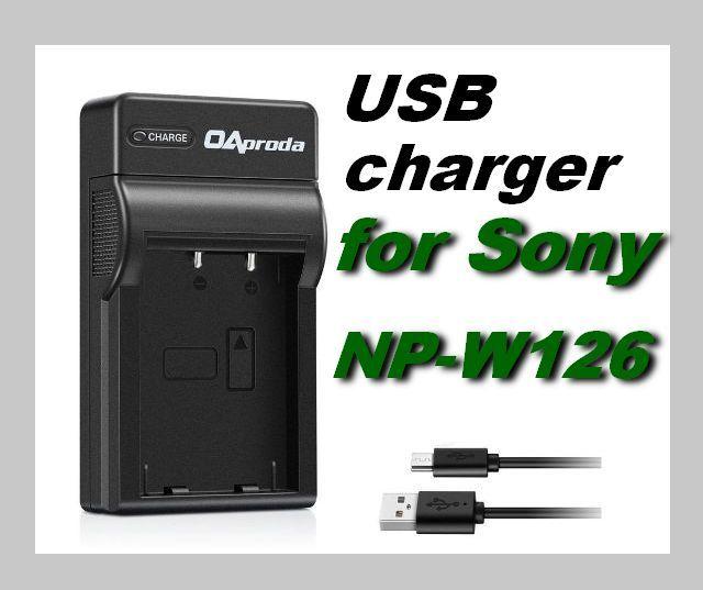 USB Nabíječka baterie FUJI FujiFilm NP-W126 nahrazuje ORIGINÁL