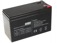 Pb akumulátor VRLA AGM 12V 9Ah pro záložní zdroj, UPS TopTechnology