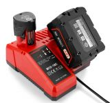 Nabíječka Li-Ion baterie Milwaukee M18 / AEG 18V - nahrazuje ORIGINÁL TopTechnology
