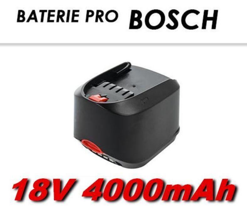 Baterie Bosch 18V Li-Ion 4000mAh nahrazuje ORIGINÁL