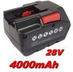 Baterie Milwaukee M28 BX 4000mAh 28V Li-Ion nahrazuje ORIGINÁL