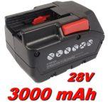Baterie Milwaukee M28 BX 3000mAh 28V Li-Ion nahrazuje ORIGINÁL