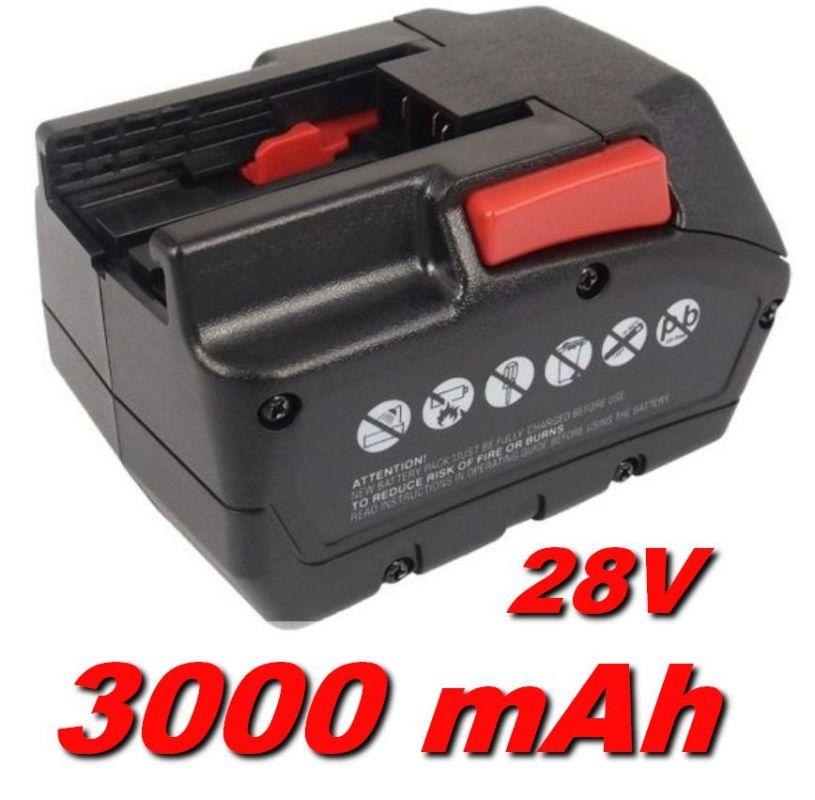 Baterie Milwaukee M28 BX 3000mAh 28V Li-Ion