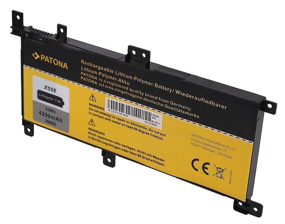 Baterie C21N1509 pro Asus X556, X556UA 4200mAh