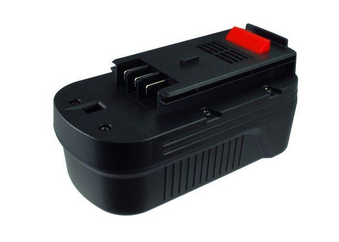 Baterie Black & Decker 18V A18, A1718, HPB18 3000mAh
