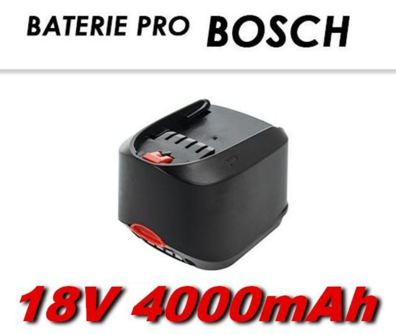 AKU baterie Bosch 18V Li-Ion 4000mAh
