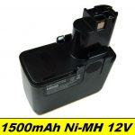 Baterie Bosch BAT011, 2 607 335 055, 12V NI-MH 1500mAh neoriginální