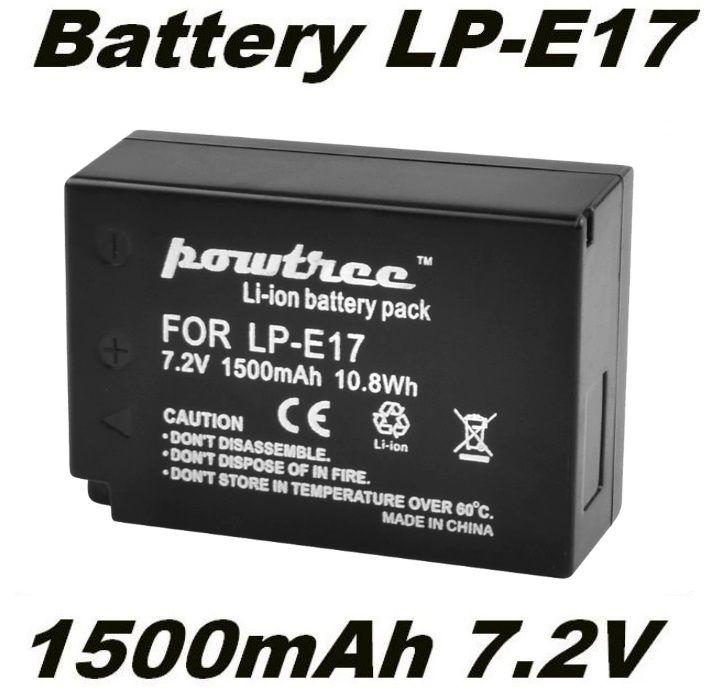 Baterie Canon LP-E17, LPE17 1500mAh neoriginální