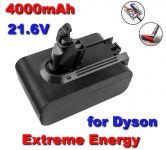 Baterie do vysavače Dyson DC58, DC59, DC61, DC62, DC72, DC74, V6 21,6V 4000mAh