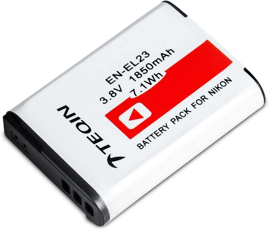 Baterie Nikon EN-EL23 1850mAh 7,4V Li-Ion