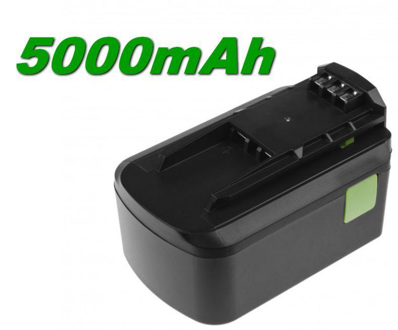 Baterie Festool BPC18, BPC 18 Li 5000mAh