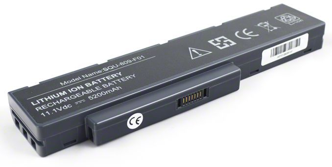 Baterie SQU-809-F01 pro Fujitsu Siemens Amilo Li3710 5200mAh