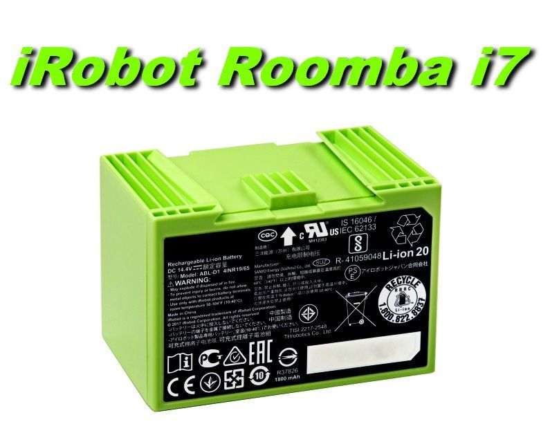 Baterie iRobot Roomba i7 2600mAh nahrazuje ORIGINÁL
