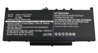 Baterie Dell J60J5, MC34Y, NJJ2H 7200mAh Li-lon 7,6V nahrazuje ORIGINÁL