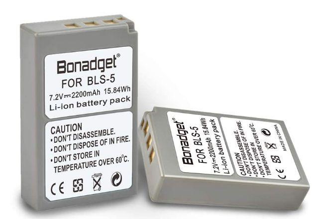 Baterie Olympus PS-BLS5 2200mAh