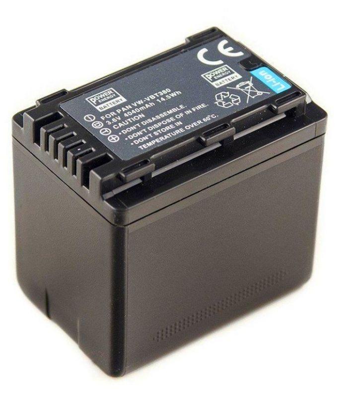 Baterie VW-VBT380 Panasonic 4040mAh s čipem