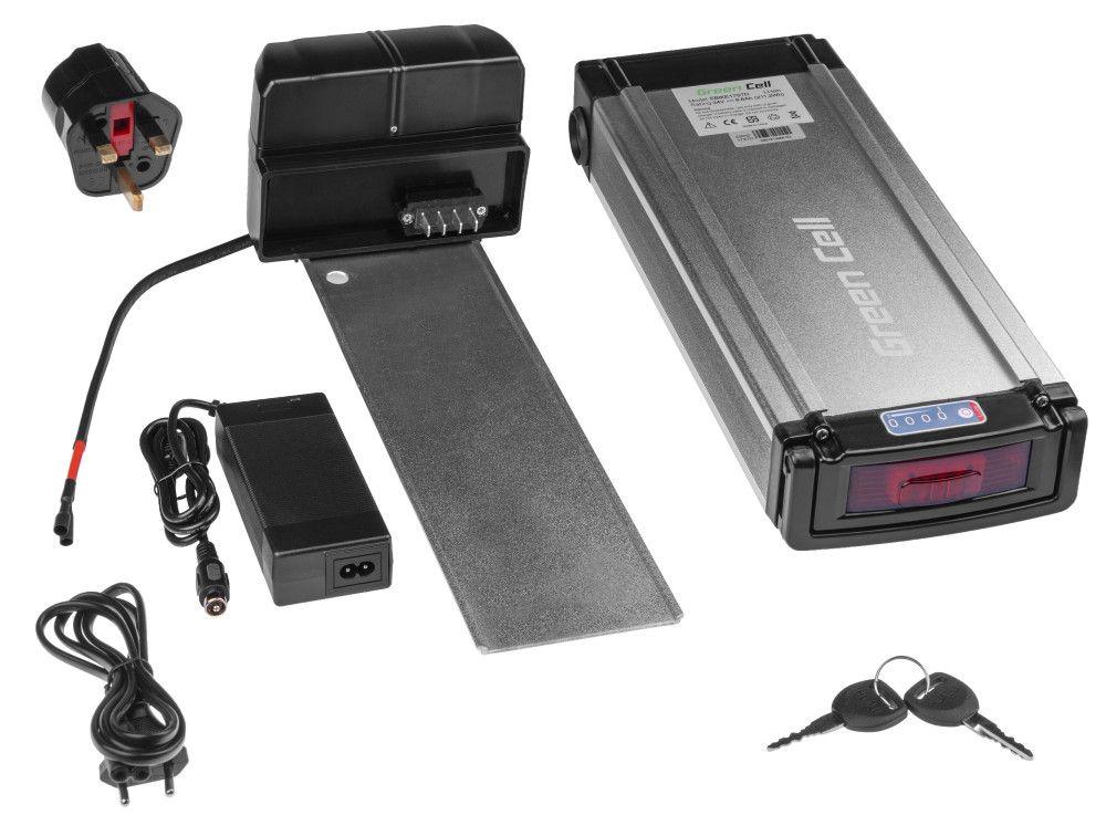 Baterie na zadní nosič 24V 8,8 Ah 211Wh pro elektrokolo Pedelec