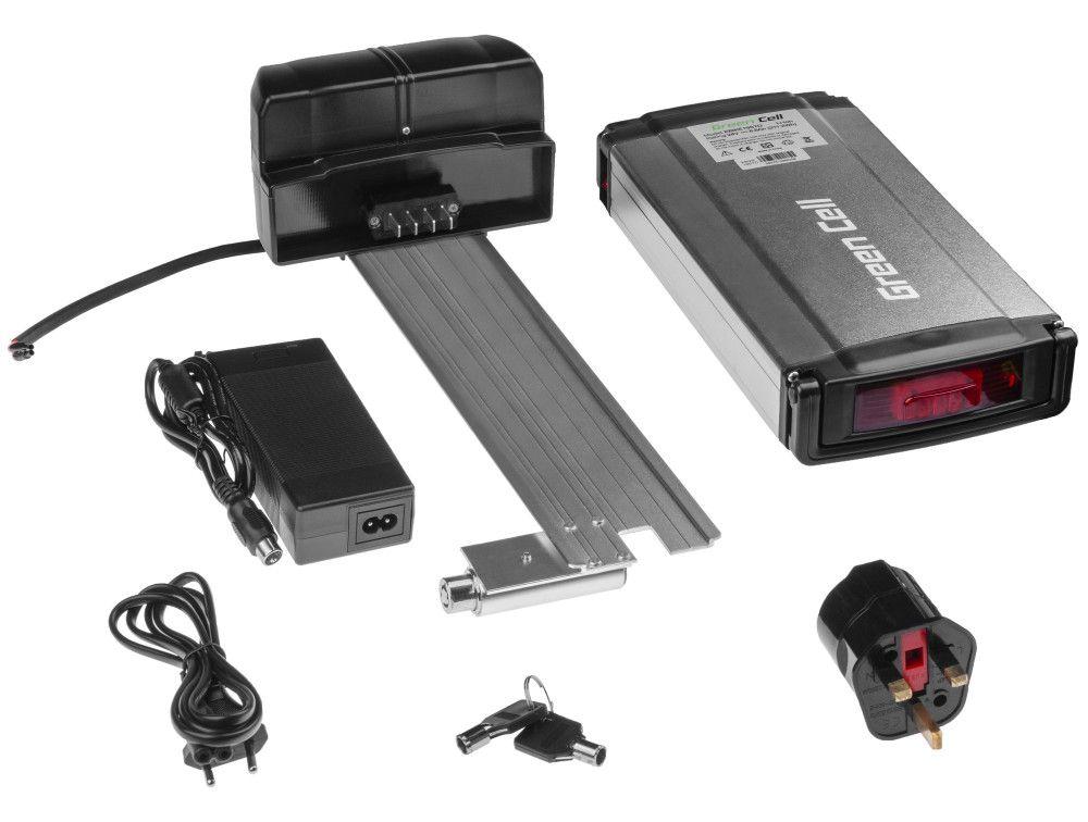 Baterie na zadní nosič pro elektrokolo Pedelec 24V 8,8 Ah 211Wh