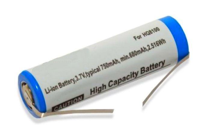 Baterie pro holící strojek Philips 750mAh 3,7V Li-Ion