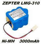 Baterie ZEPTER LMG-310 3000mAh Ni-MH 10.8V nahrazuje ORIGINÁL