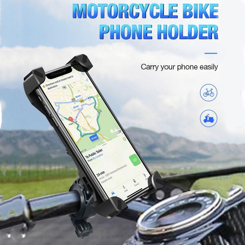 Držák na kolo pro mobilní telefon s úchytem na řídítka Bike Holder
