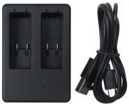 USB nabíječka baterií AHDBT-501 GoPro Hero 8, Hero 7, Hero 6, Hero 5, Hero 2018 pro 2 kusy