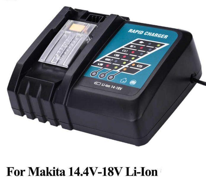 Nabíječka Makita baterie Li-Ion 14,4V / 18V nahrazuje ORIGINÁL