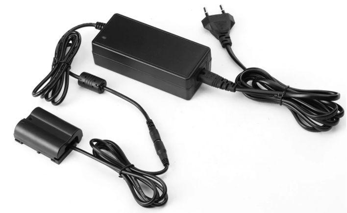 Neoriginální adaptér, zdroj pro Nikon EH-5A + EP-5B lze nahradit baterii EN-EL15
