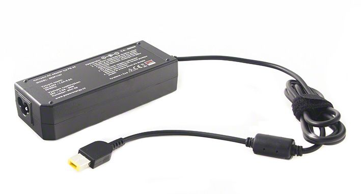AC adaptér pro Lenovo 20V, 4,5A, 90W - plochý konektor slim tip Power Energy Battery