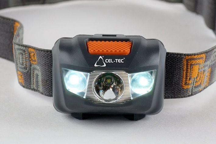 LED čelová svítilna CEL-TEC HL125