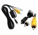 Audio video kabel pro fotoaparát Panasonic DMC-FX2, DMC-FX7, DMC-FX8, DMC-FX9, DMC-FX10 a další