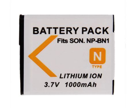 Baterie SONY NP-BN1 1000mAh