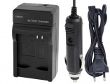 2 v 1 nabíječka baterie DMW-BC13, DMW-BC13E, DMW-BCJ13, DMW-BCJ13E pro fotoaparát Panasonic Lumix
