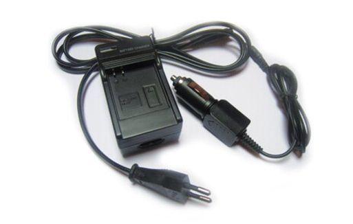 2 v 1 nabíječka baterie LP-E6, LP-E6N pro fotoaparát Canon řady EOS