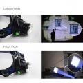 Čelová svítilna - čelovka LED XML-T6 až 600 lumenů, zoom, outdoor TopTechnology