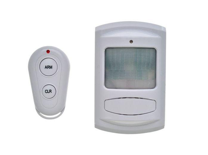 Pohybové PIR čidlo + GSM alarm + dálkové ovládání