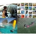 3 v 1 teleskopická selfie tyč, plovák a stativ pro sportovní kameru GoPro Hero a jiná zařízení TopTechnology