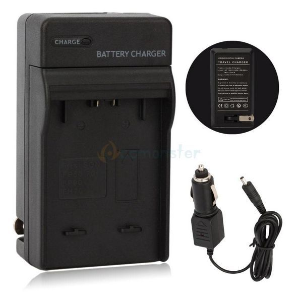 2 v 1 nabíječka baterie SONY NP-FP30, NP-FP50, NP-FP51, NP-FP70, NP-FP71, NP-FP90, NP-FP91 a další
