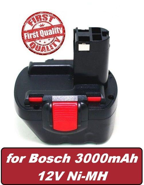 Baterie Bosch GSR 12V, GSR 12-1, GSR 12 VE-2, GSB 12 VE-2 12V 3000mAh
