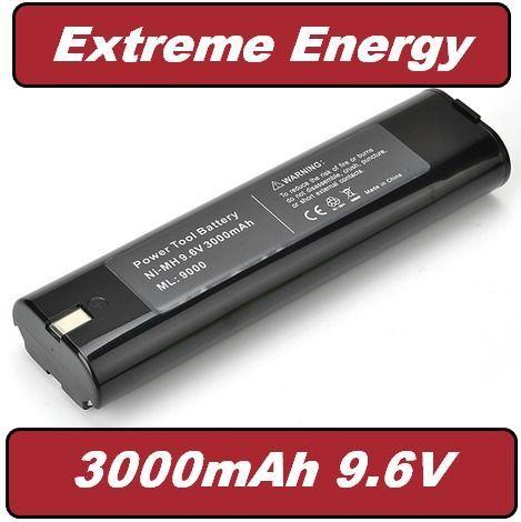 Baterie Makita 9000, 9001, 9002, 9600, 6096D, 6095D, 191681-2 9,6V 3000mAh